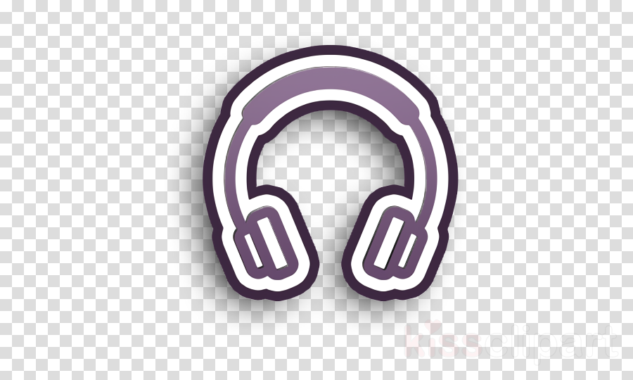 Listening to Music Headphones Clip Art