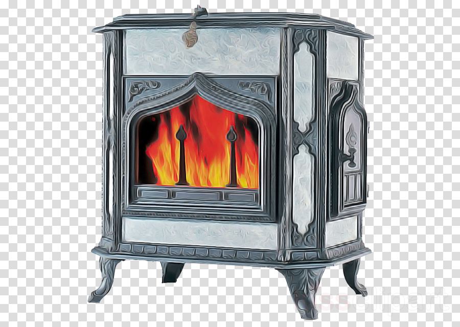 wood-burning stove hearth heat flame fireplace