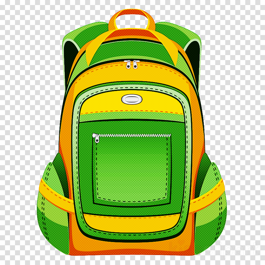 backpack green yellow bag luggage and bags