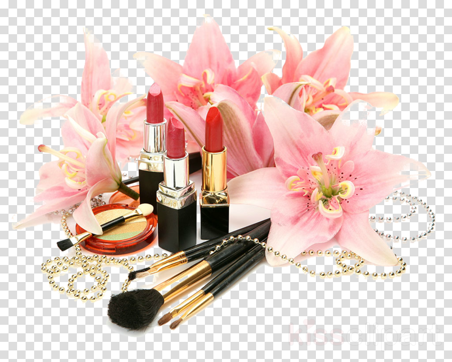 pink lipstick cosmetics beauty material property