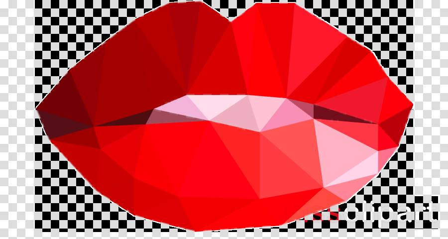 red ruby petal logo circle