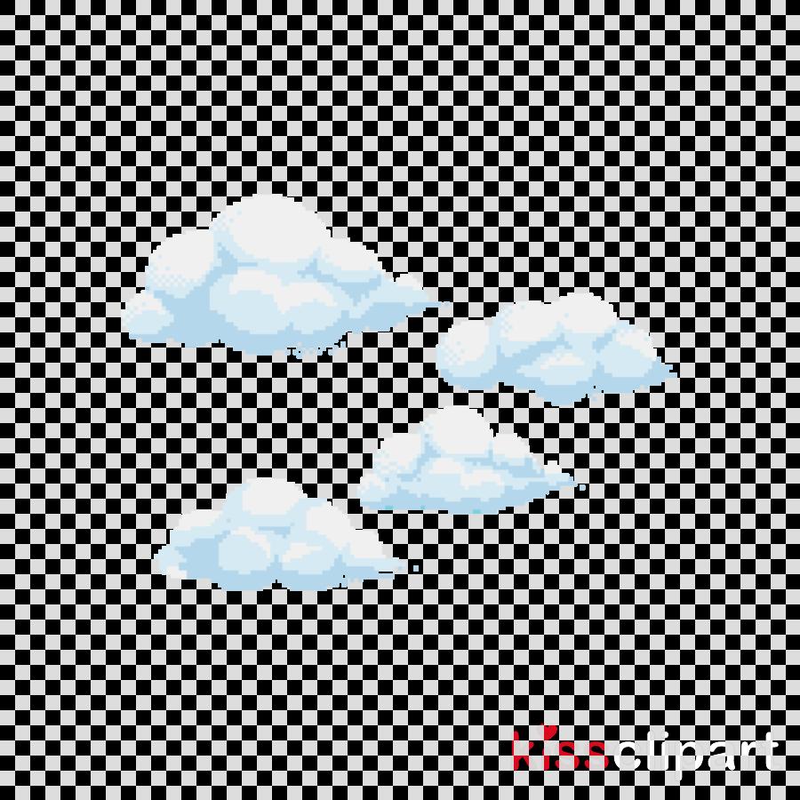 white cloud blue aqua sky