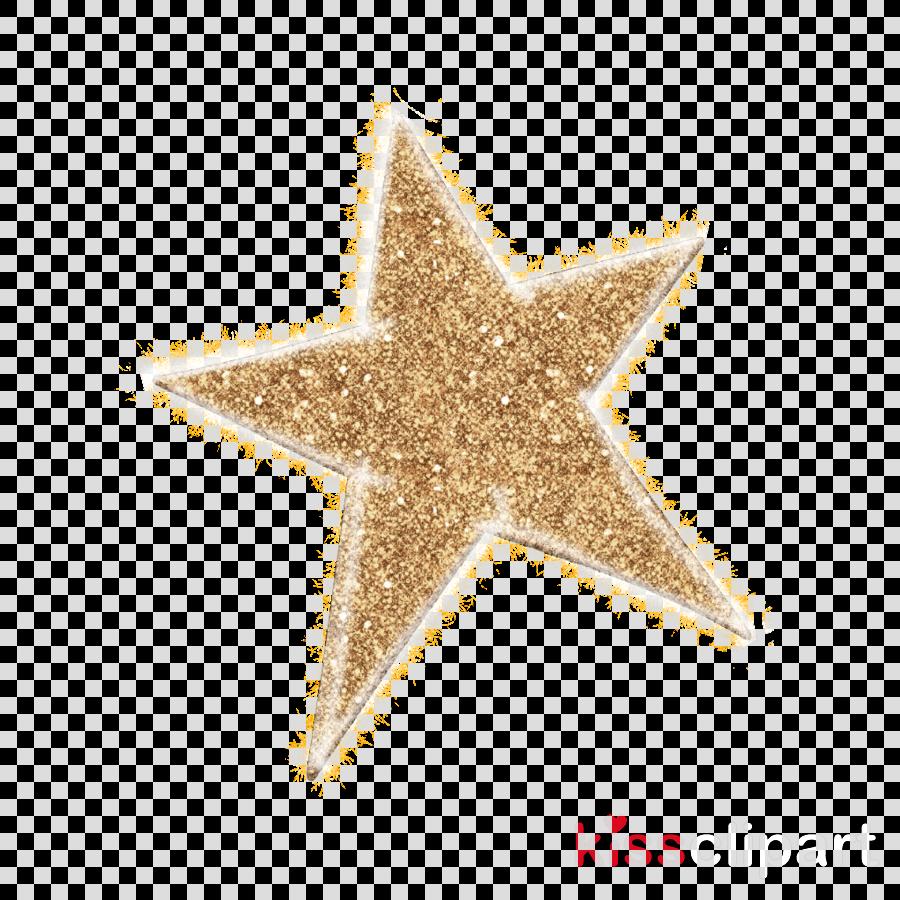 star glitter starfish metal