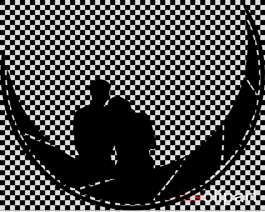 black-and-white font silhouette logo crescent