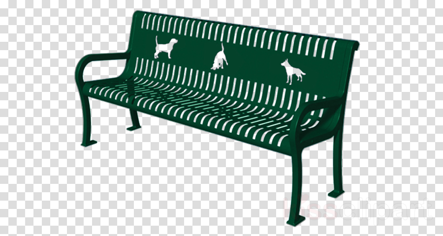 furniture bench outdoor bench green table
