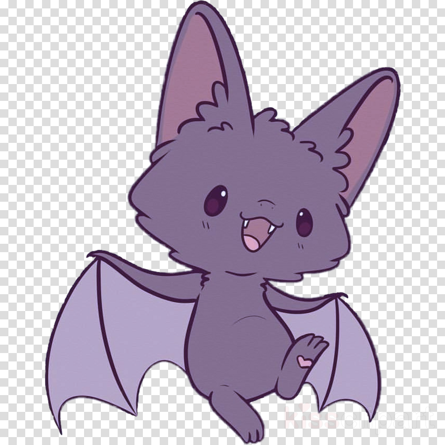 A Picture Of A Cartoon Bat cartoon purple violet animation bat clipart - cartoon