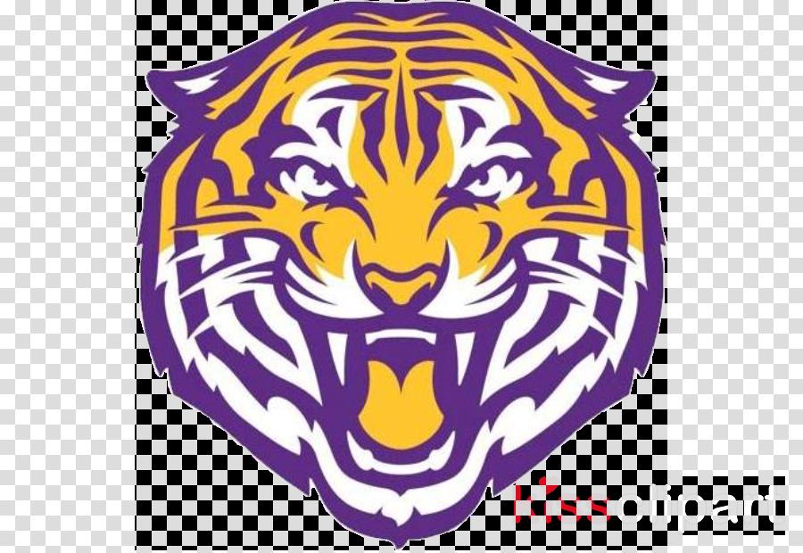 purple tiger bengal tiger logo wildlife
