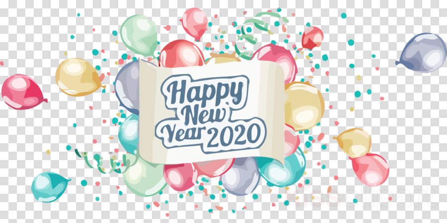 Happy New Year Clipart 2020 85