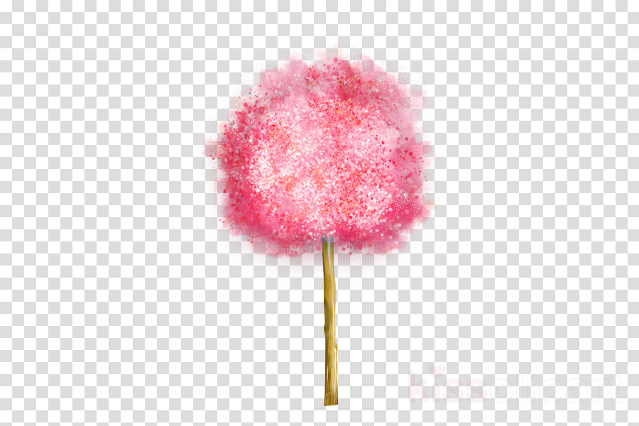 pink cotton candy stick candy food material property
