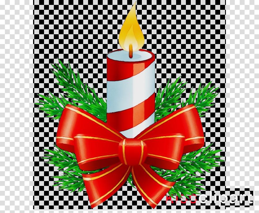 Christmas Decoration Clipart Candle Christmas Decoration Tree Transparent Clip Art