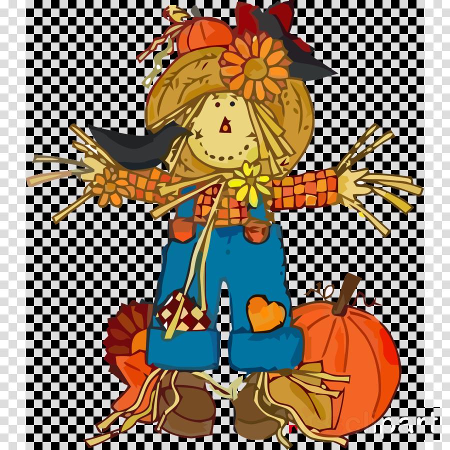 scarecrow pumpkin autumn