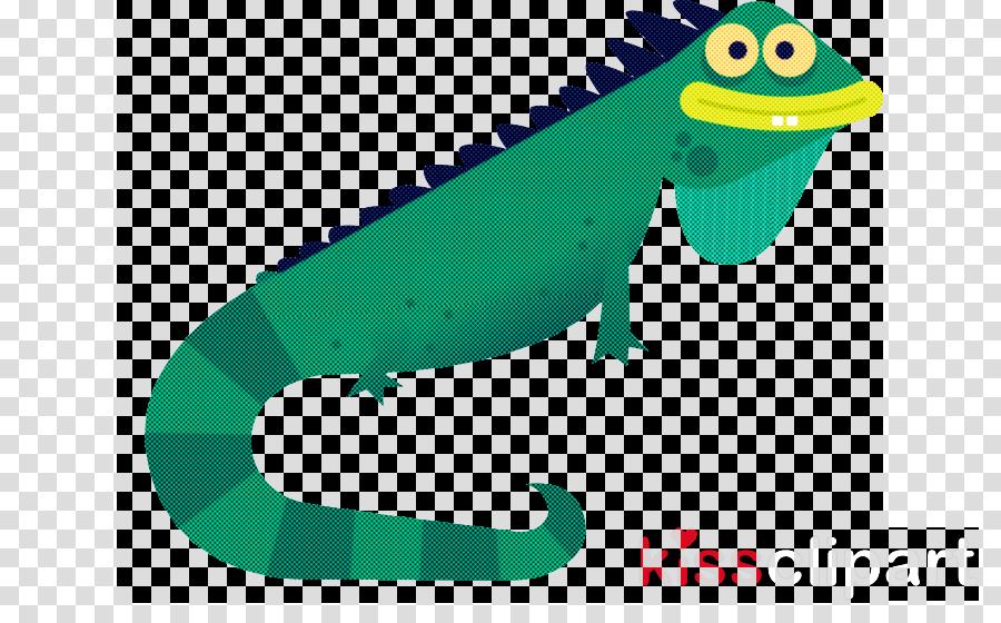 reptile green lizard cartoon scaled reptile