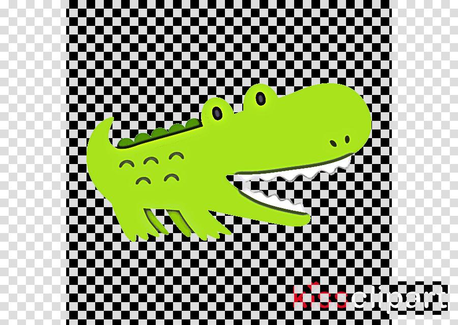 crocodilia crocodile green alligator reptile