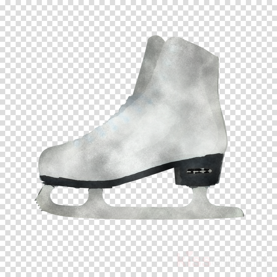 figure skate ice hockey equipment footwear white ice skate