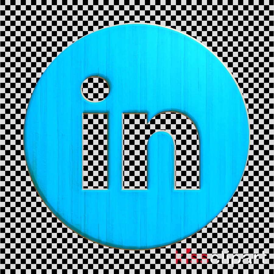 circle icon linkedin icon