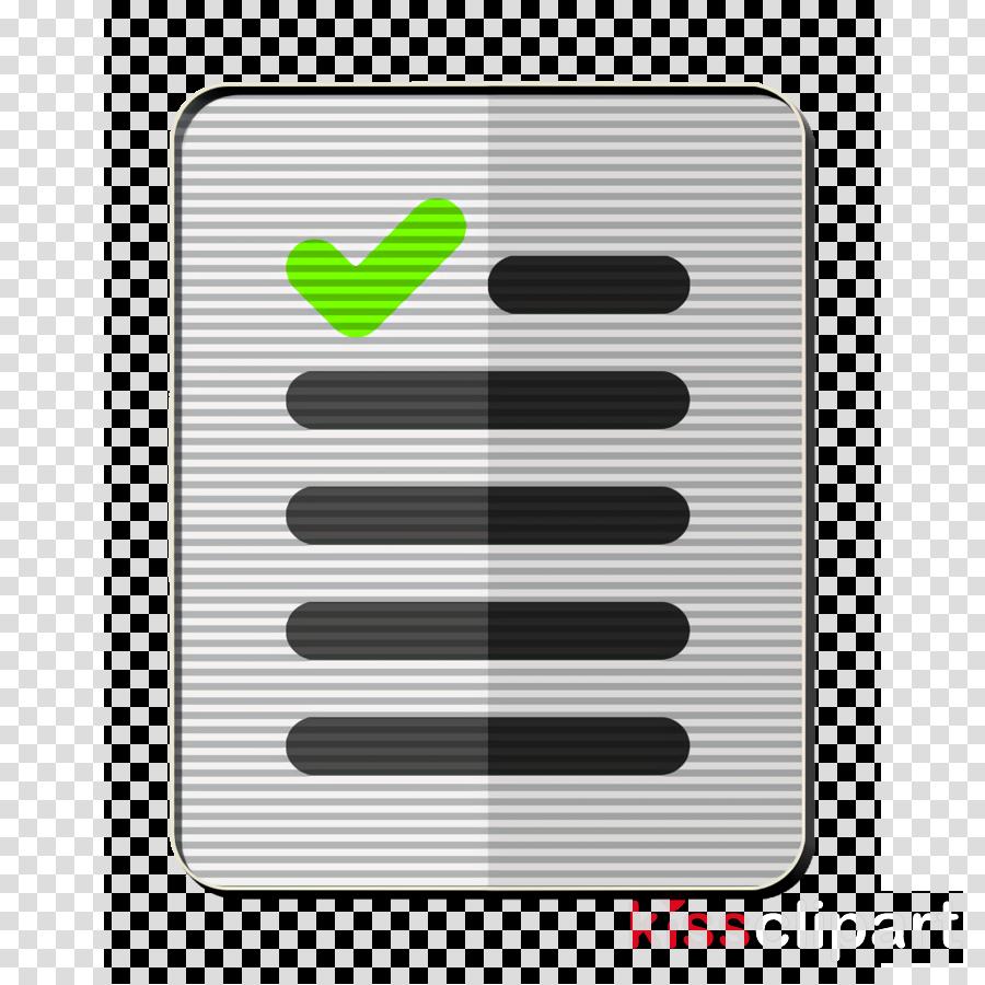 checklist icon document icon file icon