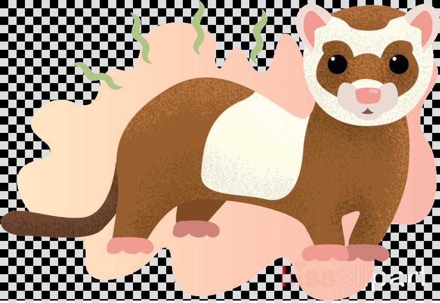cartoon ferret animal figure mustelidae snout