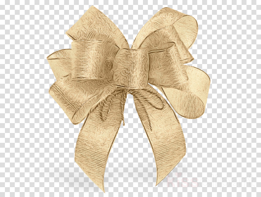ribbon beige gift wrapping present metal