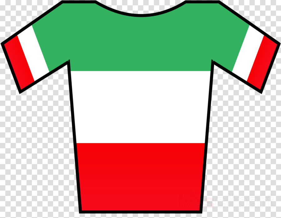 red clothing green t-shirt line