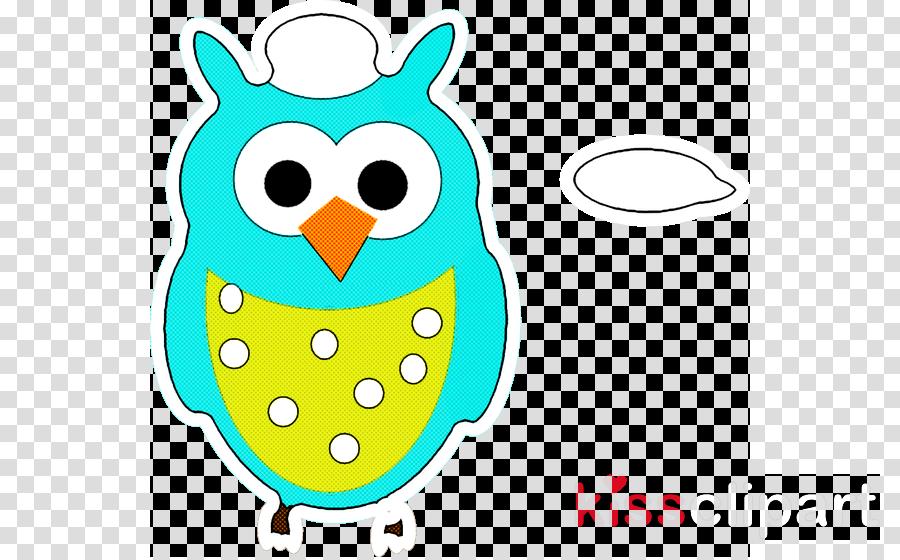 turquoise aqua bird owl