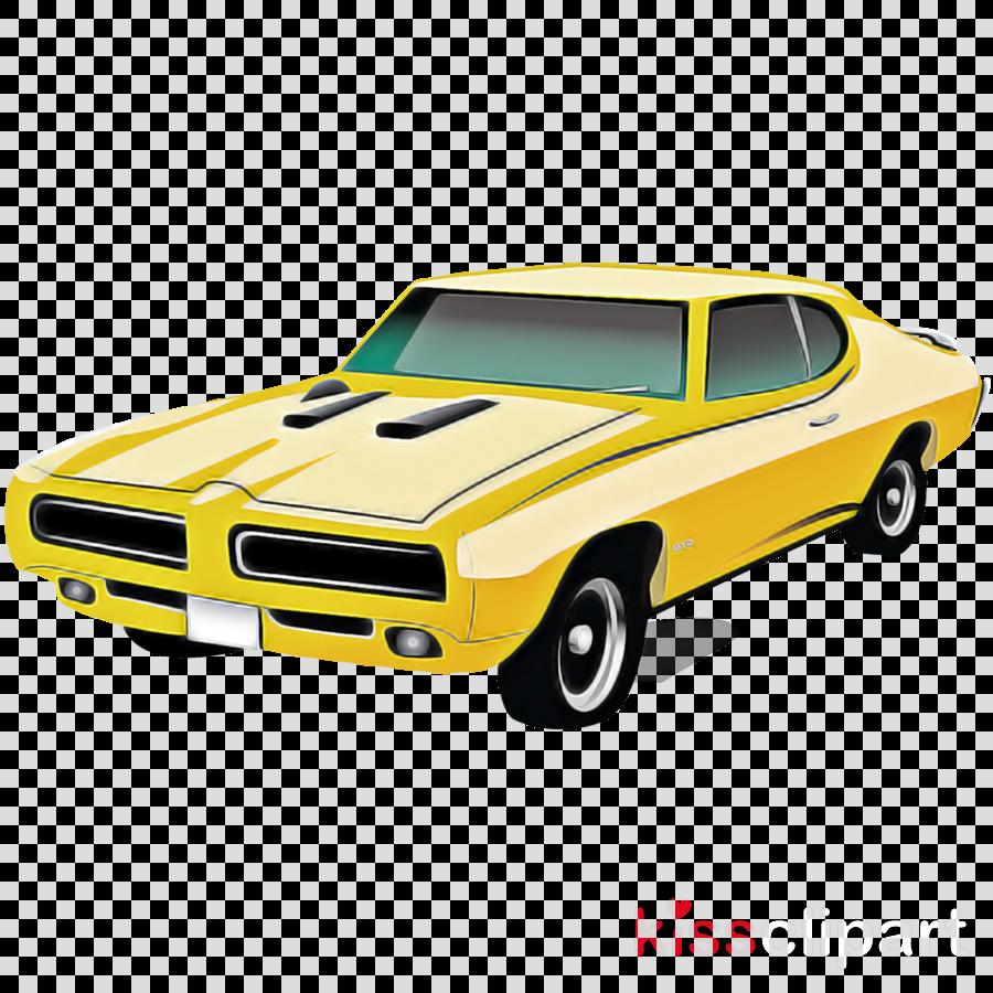 land vehicle vehicle car muscle car yellow