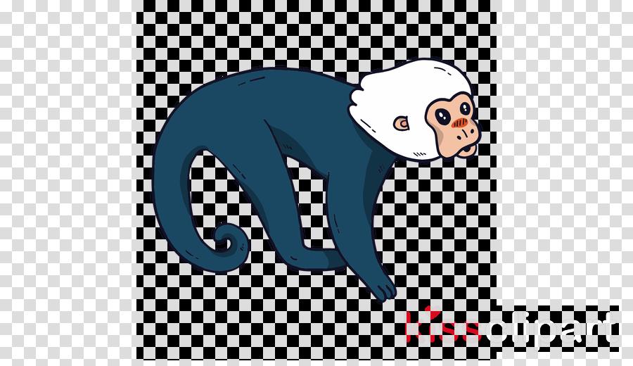 new world monkey cartoon old world monkey white-headed capuchin tail