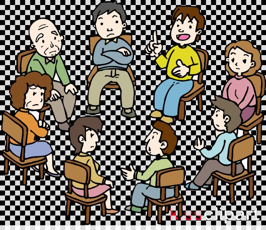 social group people cartoon sharing community