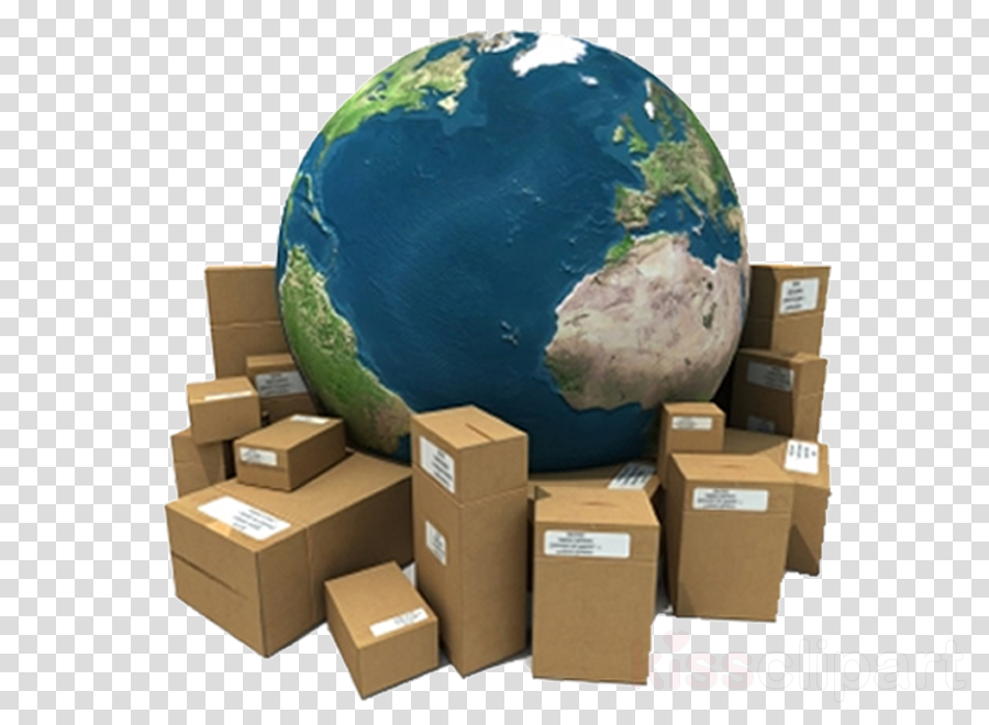 world earth package delivery globe