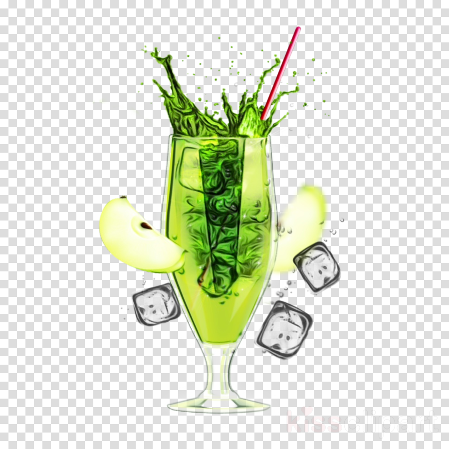 drink alcoholic beverage cocktail garnish cocktail green