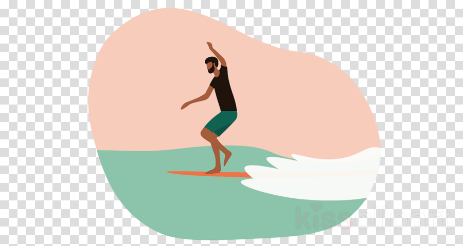 surfing animation physical fitness balance