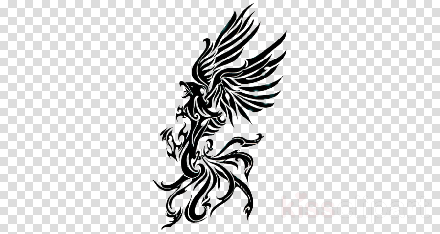 wing head tattoo logo temporary tattoo
