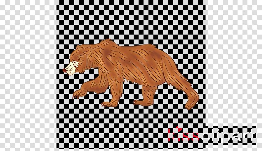animal figure lion grizzly bear bear roar