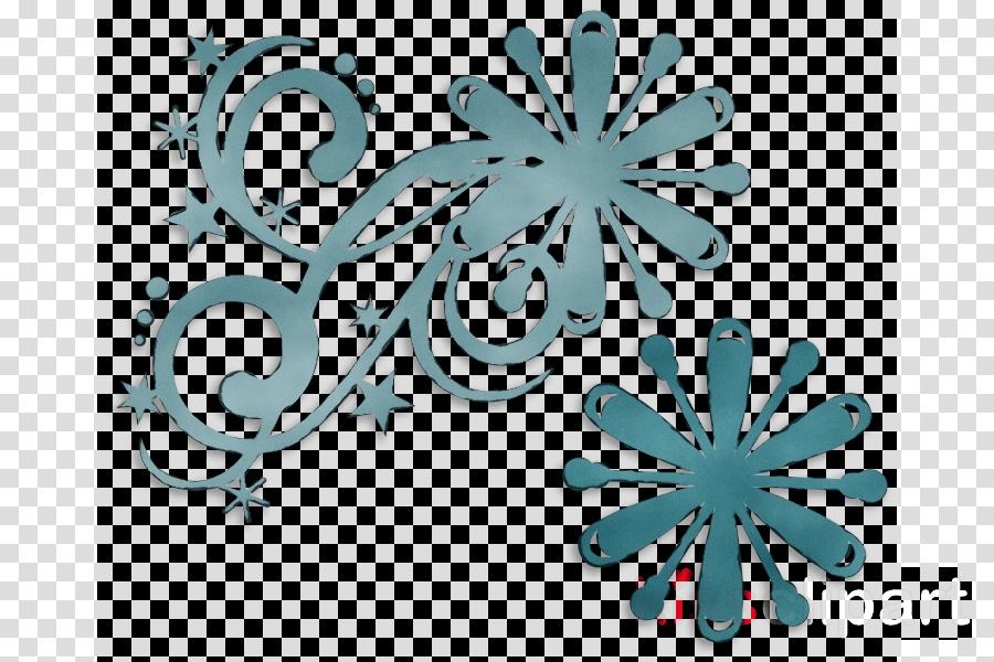 teal turquoise aqua leaf plant