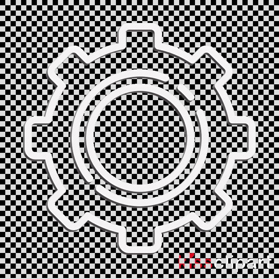 Vector Illustration Of Financial Cogwheel Mechanism Clipart (#2017033) -  PikPng