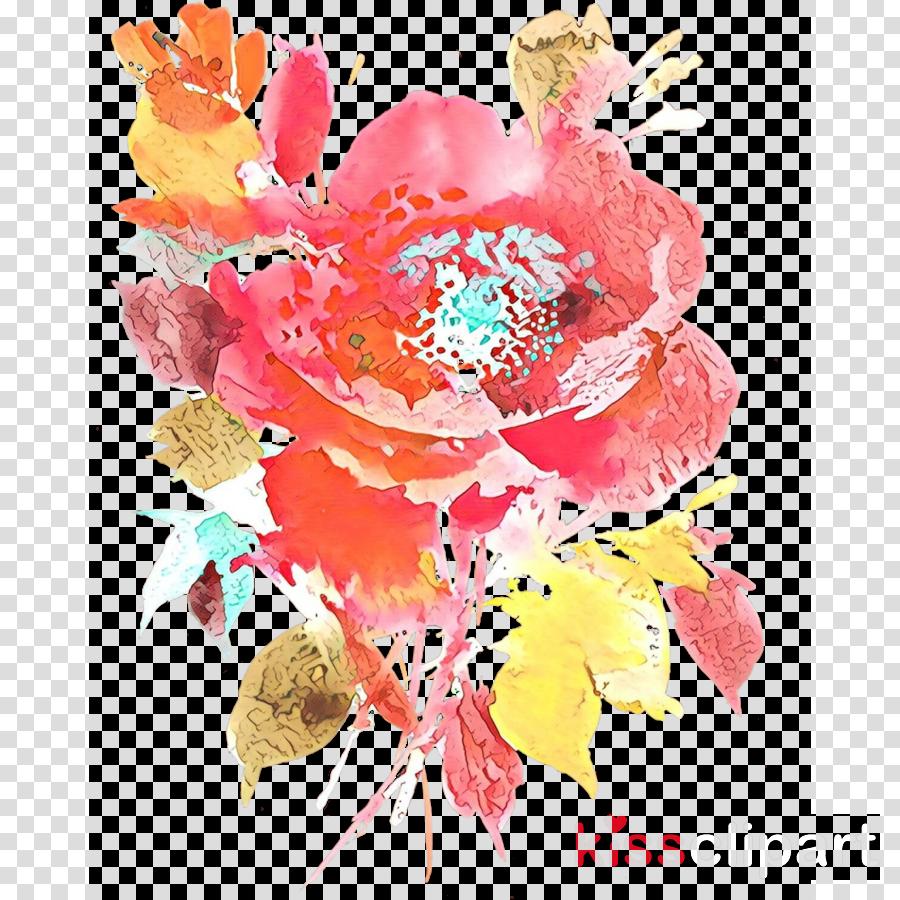 watercolor paint flower cut flowers plant paint