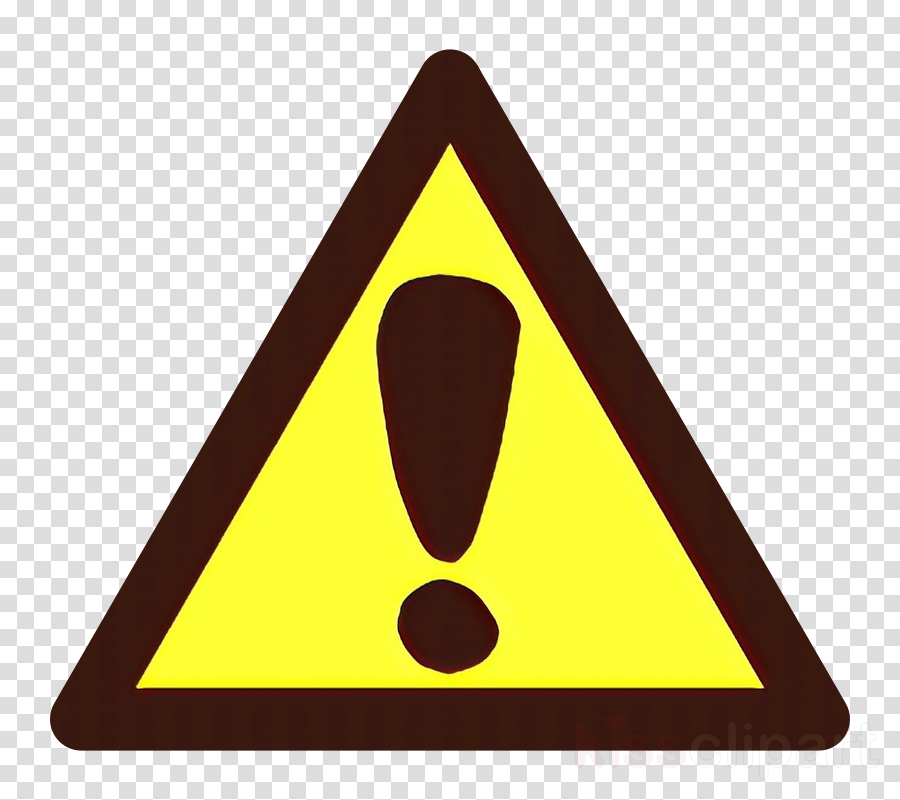 triangle triangle sign line traffic sign