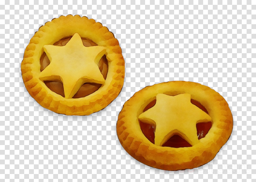 mince pie yellow food dish baked goods