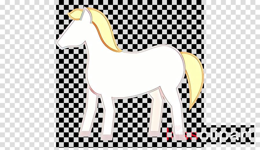 horse animal figure mane mare tail