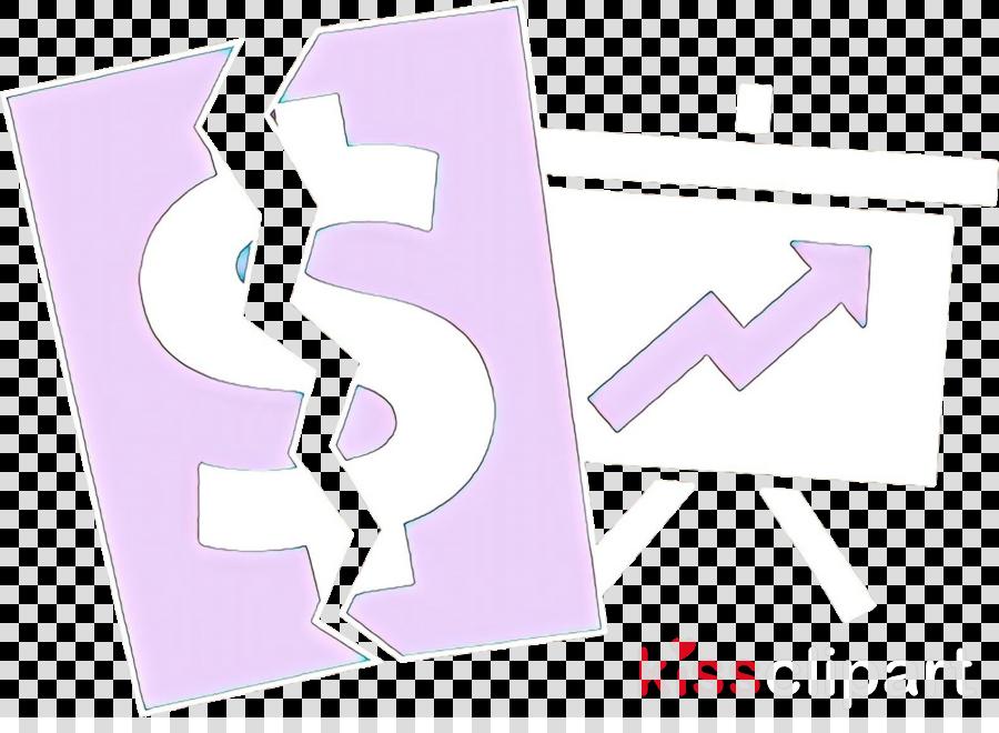 pink violet purple font number
