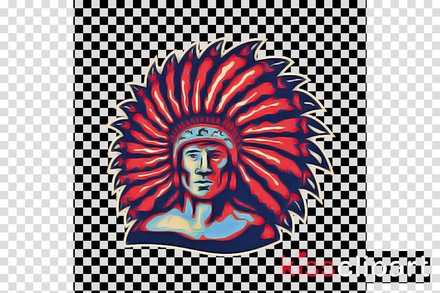 head headgear cap t-shirt tribal chief