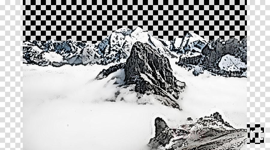 nunatak geological phenomenon glacial landform rock snow