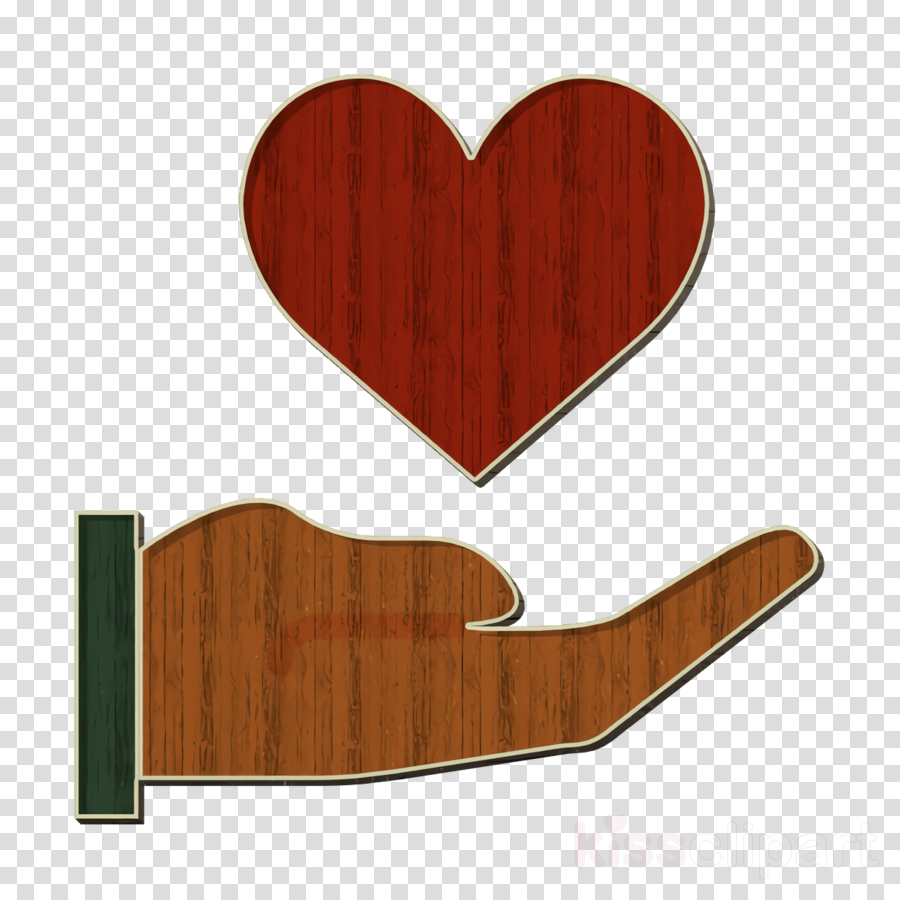 Heart icon Hand & Gestures icon
