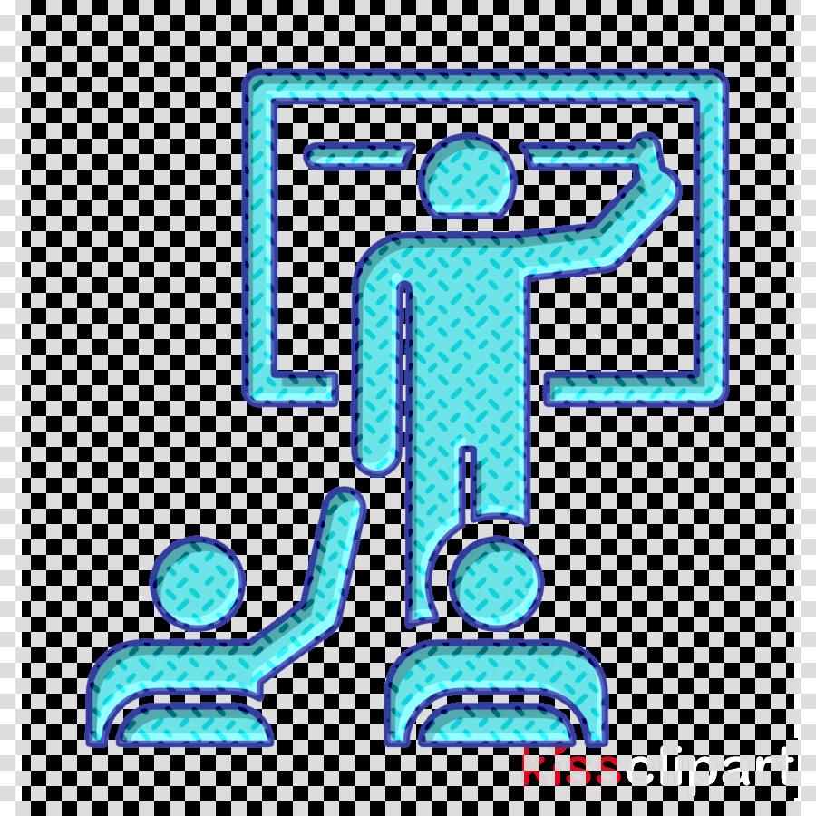 Classroom icon School pictograms icon Teacher icon