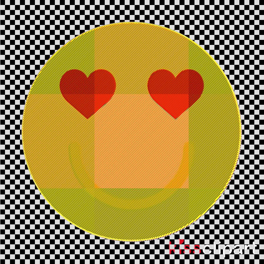 Smile icon Emoticon Set icon In love icon