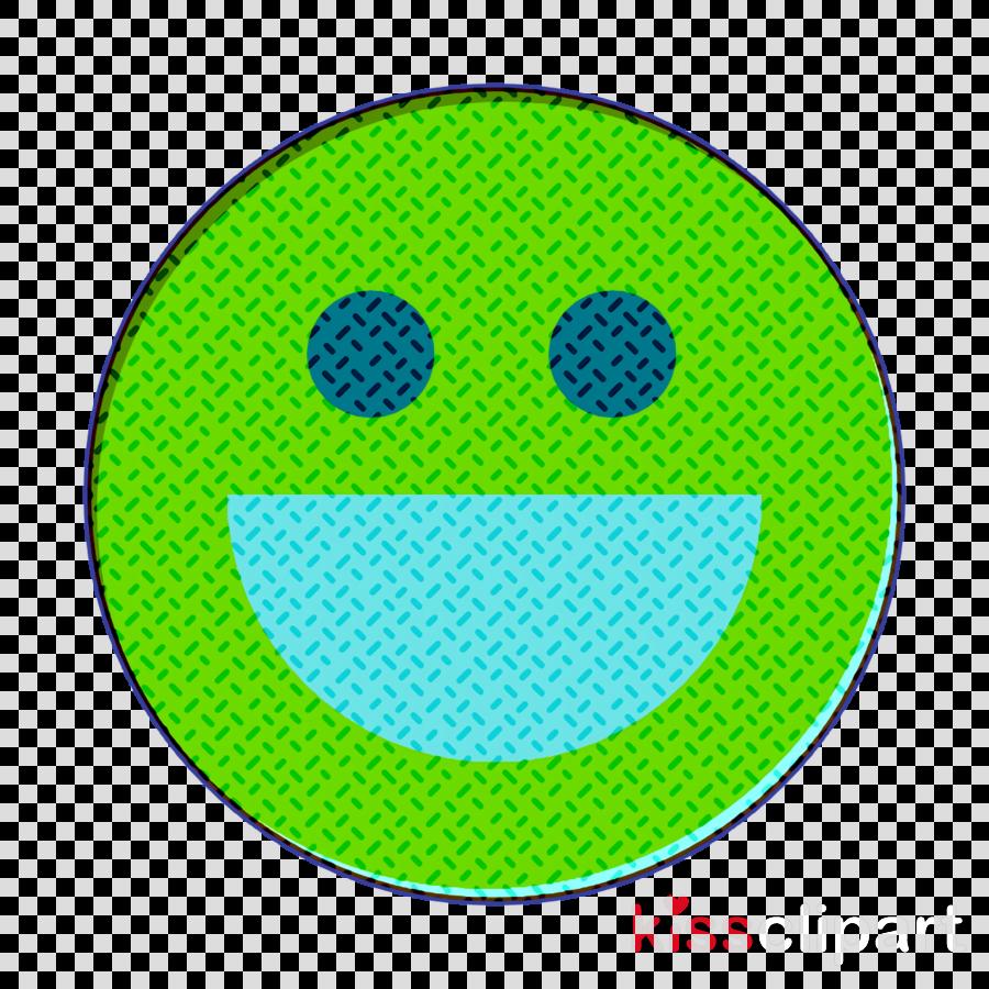 Happy icon Emoji icon Emoticons icon