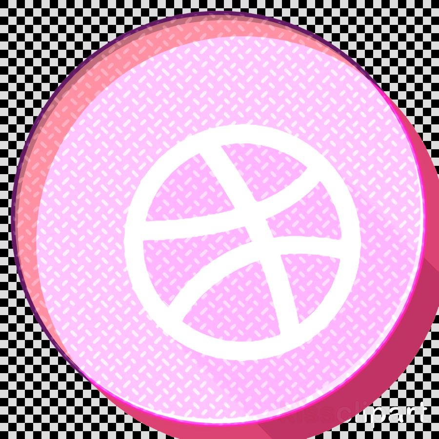 Dribbble icon Social media icons icon Logo icon