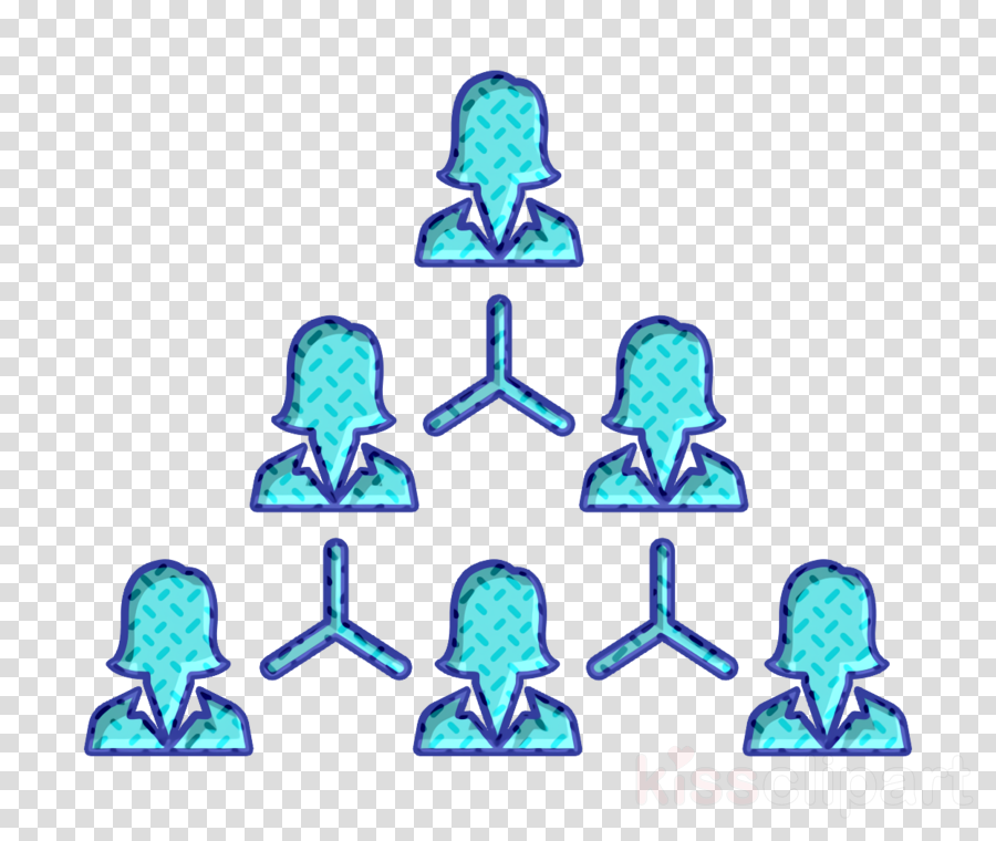 people icon Hierarchical structure icon Team icon