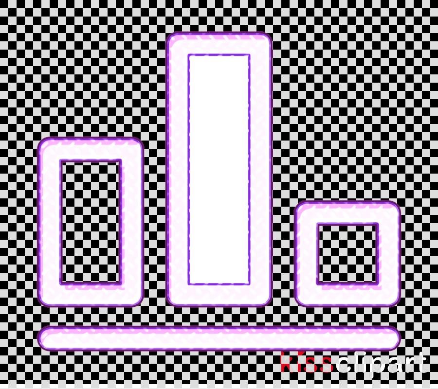 Bar chart icon Graph icon business icon