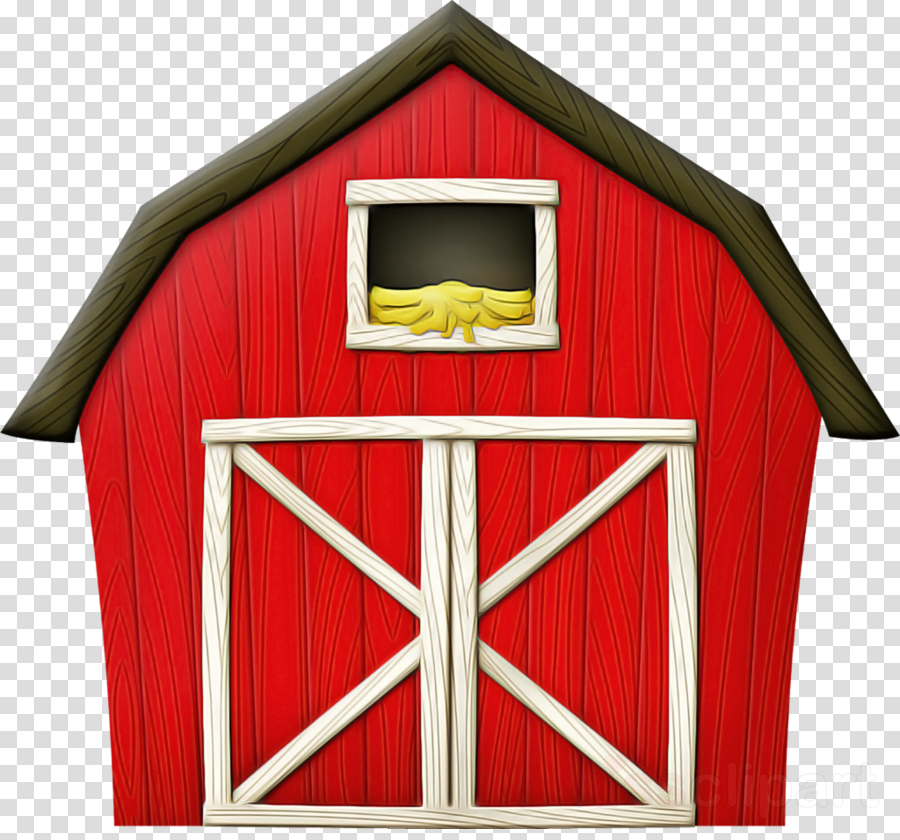 red property shed barn house