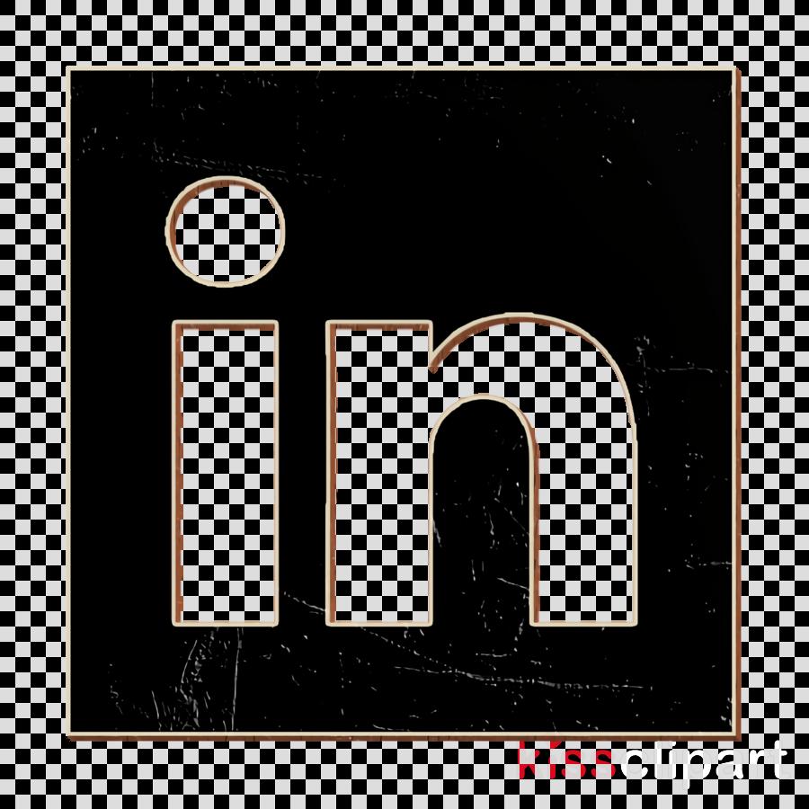 Solid Social Media Logos icon Linkedin icon